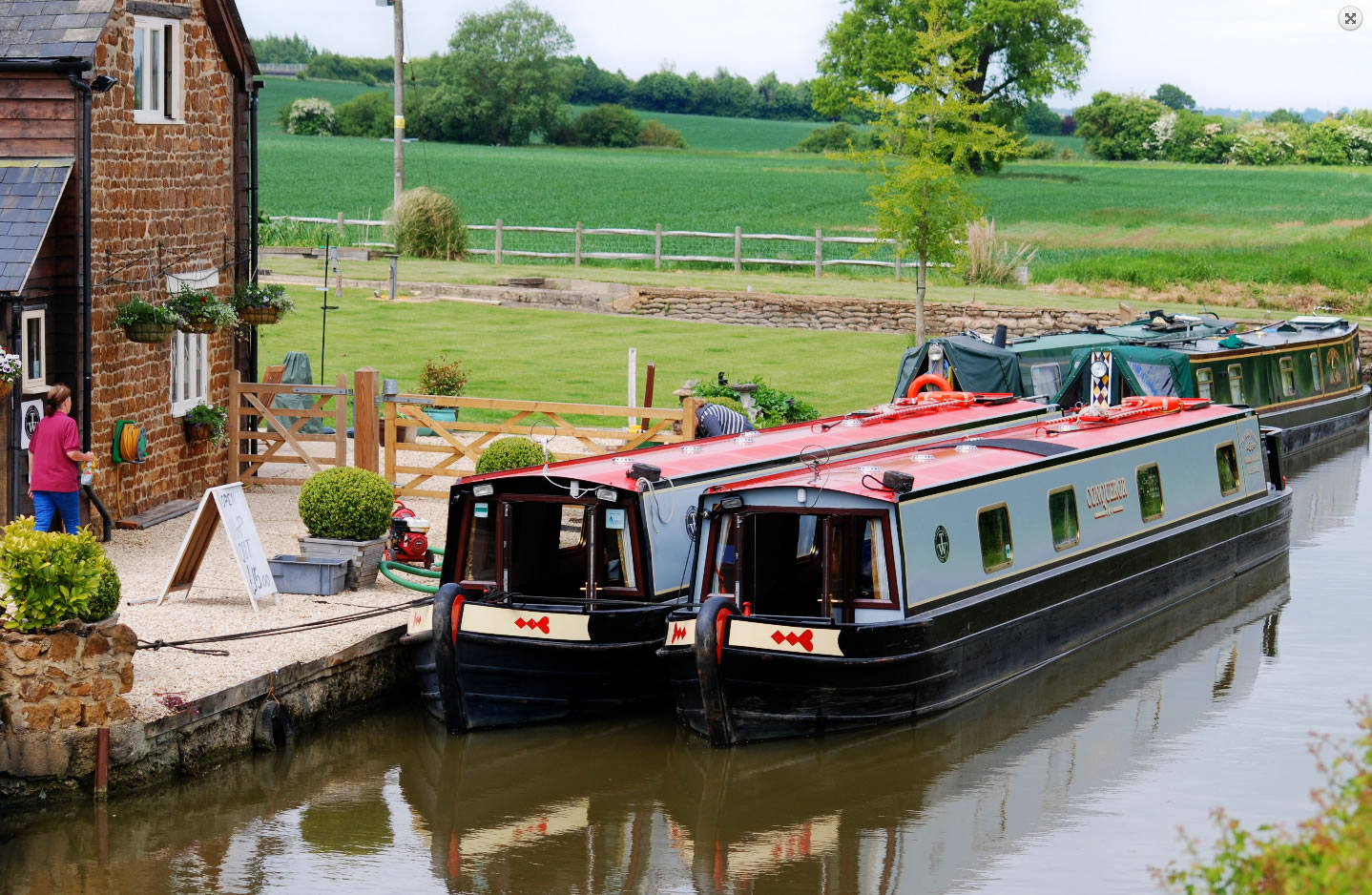 The Twyford class canal boat