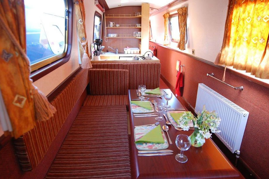 The  class canal boat