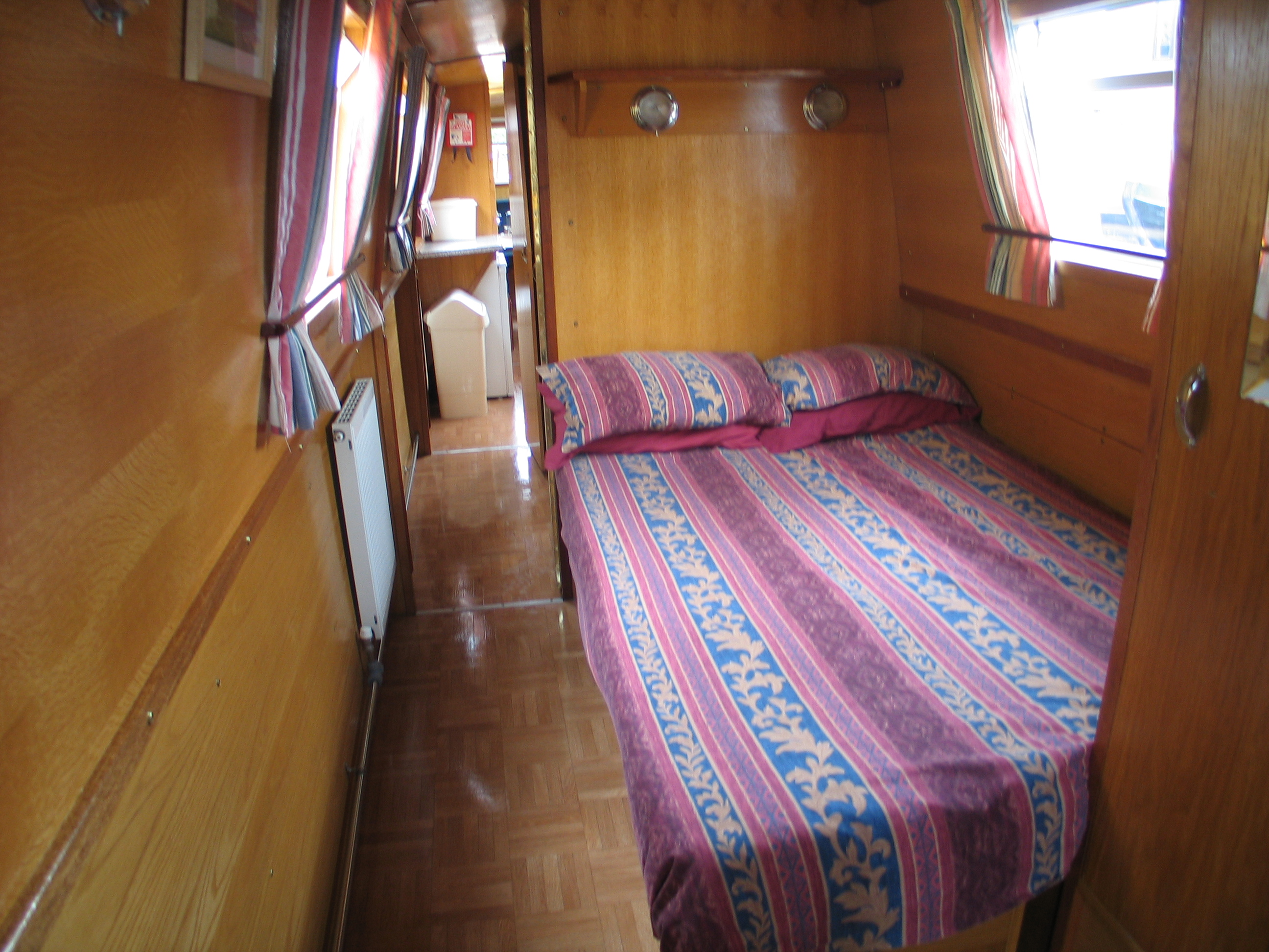 The Tyne class canal boat
