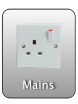 Mains electric sockets on board