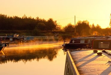 Anderton Marina. A UK Canal Boating Location