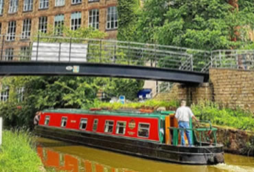 Bollington Wharf. A UK Canal Boating Location