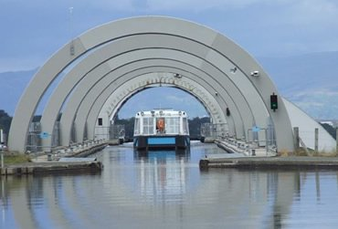 Falkirk Wharf. A UK Canal Boating Location