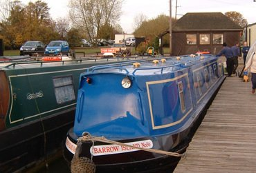 Gayton Marina. A UK Canal Boating Location