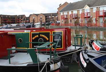 Hilperton Marina. A UK Canal Boating Location