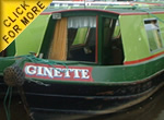 The Ginger3a Canal Boat Class