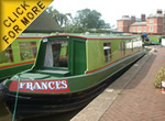 The Ginger4 Canal Boat Class