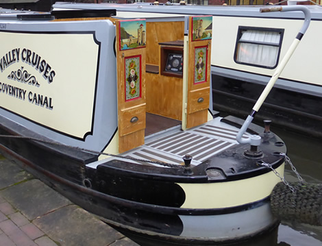 Semi Traditional Narrowboat