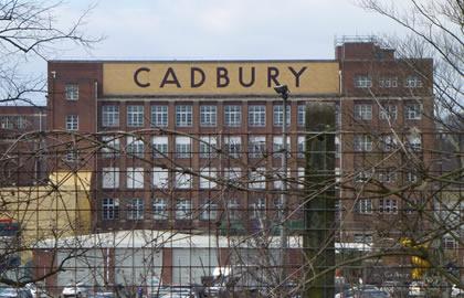 Cadburys World from Alvechurch