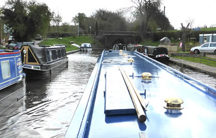 Middlewich and return from Blackwater