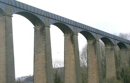 Pontcysyllte Aqueduct and return from Blackwater