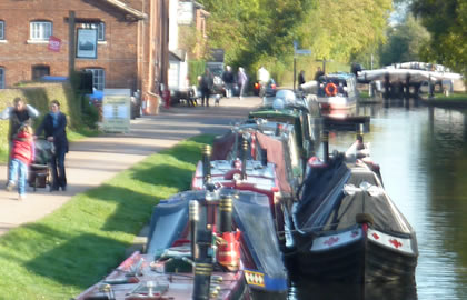 Stoke Bruerne and return from Rugby
