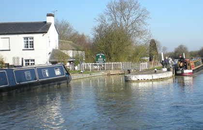 Braunston and return from Foxton