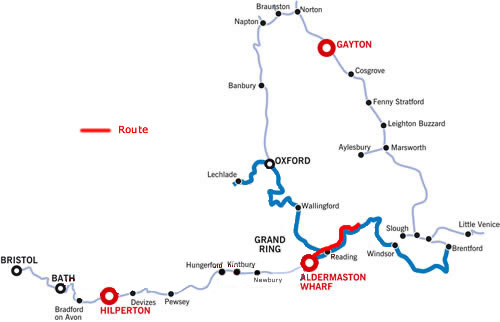Henley and return from Aldermaston