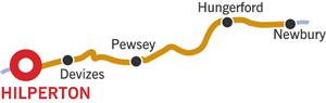 Newbury and return from Hilperton